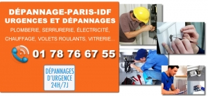 Depannage Paris IDF
